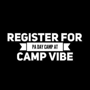 Register for PA Day Camps at ViBE