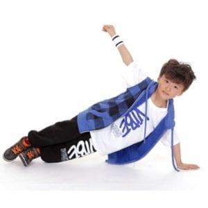 Breakdancer boy